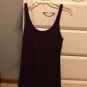 Express dark purple maxi dress